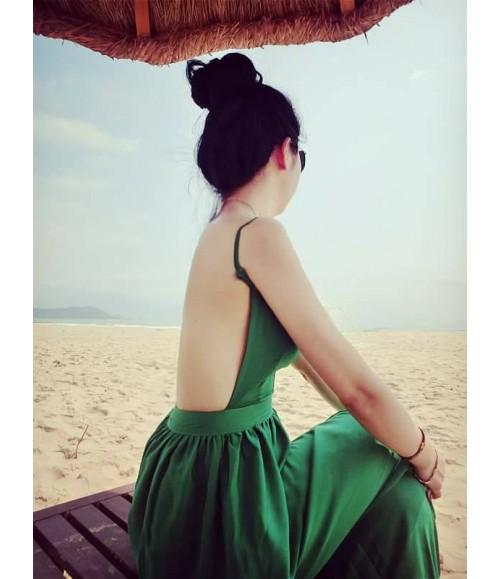 Đầm dạ hội hở lưng
