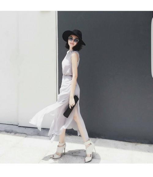 Đầm maxi 8 tà