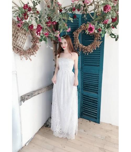 Đầm dạ hội ren cúp ngực